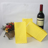 Saco de papel de pontos coloridos para embalagem de doces
