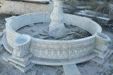 op Fontein van de Tuin van de Verkoop de Marmeren met Pool