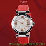 Relógio quente da liga da forma com couro genuíno Ja-15101