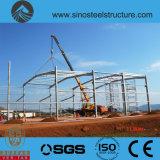 세륨 ISO BV SGS에 의하여 전 설계되는 강철 건축 창고 (TRD-083)