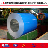 Синий цвет на заводе Prepainted PPGI PPGL стальной лист для строительства
