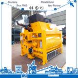 Js3000 tipo misturador concreto dos eixos dobro estacionários na venda