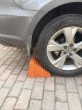 Cuneo della rotella di automobile, buffer dell'automobile, blocco di gomma, cuneo di gomma dell'automobile