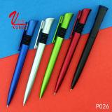 Plumas impresas de encargo de la venta al por mayor plástica del bolígrafo en venta