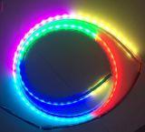 Striscia scorrente dell'indicatore luminoso 1.2m RGB LED di inverso del segnale di girata di colore di Muftì-Funzione della coda delle strisce doppie dell'indicatore luminoso LED