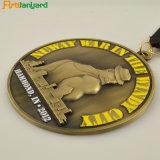 Médaille de métal de haute qualité personnalisés par Antique couleur