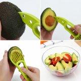 3in1 Mes van de Snijder van de Snijmachine van het Fruit van de Sheaboom van de avocado het Boter Plastic