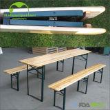 Biertisch 나무로 되는 맥주 테이블 세트