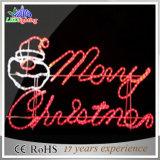 LEDの魅力的な表示印のメリークリスマスの文字の装飾ライト
