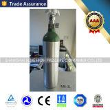 Frasco de oxigênio por atacado do cilindro de oxigênio 1L do alumínio M6 do fabricante com padrão de DOT3al