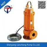 bomba de água de esgoto vertical portátil do motor elétrico de 7.5kw 2inch