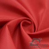agua de 50d 280t y de la ropa de deportes tela tejida chaqueta al aire libre Viento-Resistente 100% del filamento del poliester del telar jacquar de la tela escocesa del diamante abajo (53115)