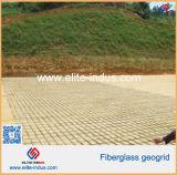 Vetroresina Geogrids della pavimentazione dell'asfalto per il fondamento della pista di Aiport della diga