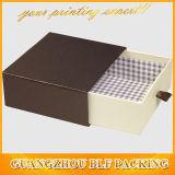 Черная бумажная малая коробка ювелирных изделий картона с ручками ящика