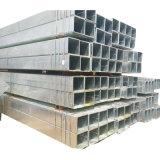 Sección hueca Gi tubo cuadrado de construcción