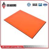 Ideabond 4FT*8FT 상아빛 백색 폴리에스테에 의하여 그려지는 알루미늄 천장판 (AE-31C)