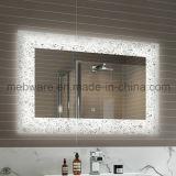 Banheiro do espelho do diodo emissor de luz, espelho do banheiro com diodo emissor de luz