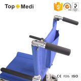 Кресло-коляскы перехода Topmedi алюминиевые с Слегка ударяют-вверх подлокотник
