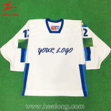 Healong Fashion Sportswear Dye sublimé Mens maillot de hockey sur glace d'impression