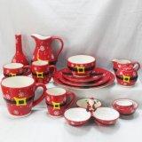 De ceramische Kruik van de Room van de Gift van Kerstmis van de Pot van de Melk Promotie