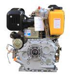10 hp enfriado por aire de un cilindro de Motor Diesel