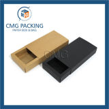 Unadorned blaues Blumen-Drucken-kleine Papiertortenschachtel (box-009 CMG-zusammenbacken)