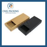 Sin adornos de flores de color azul pastel de papel de impresión de pequeños Box (CMG-cake box-009)