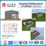 2층 건축 디자인 강철 구조물 창고 강철 구조물