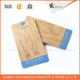 China Professional OEM Good Sales Printed Kraft Garment Hang Tag