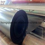 China 0,5 mm/0,75 mm/1mm/1,5 mm/2mm ASTM Geomembrana HDPE para vertederos Pond Liner de camarón con el precio de fábrica del fabricante