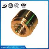物質的な真鍮の銅の青銅CNCの機械化のために機械で造るOEMの精密金属か黄銅または合金