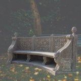 Мраморные стенде со старинной обращения с видом на сад оформлены T-2204