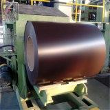 bobine en acier galvanisée colorée du matériau de construction d'épaisseur de 0.6mm PPGI