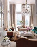 現代様式ファブリックソファーの居間のソファー、Chaise