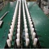weiße geriffelte Kerze 400g/Kerzen nach Angola