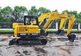 Venta caliente Sinomach 0,22 m3 de Maquinaria de construcción de equipos de ingeniería hidráulica de las excavadoras de oruga Mini Excavadora