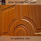 Дверь деревянного каркасного Infilling кожи Sapelli деревянная пожаробезопасная