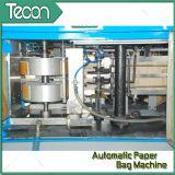 Bolsa de papel pegada automática de la válvula que hace la maquinaria