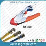 Het coaxiale Hulpmiddel van de Compressie van de Schakelaar van de Kabel Rg59 RG6 F (nt-CC1E)