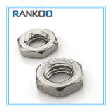 Noix mince Hex M6-36 de DIN439 ISO4035 solides solubles 304