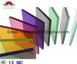 verre feuilleté de film de la couleur PVB de 6.38mm-50mm pour mur de porte/guichet/frontière de sécurité/rideau