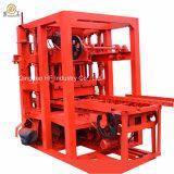 Bloco Qtj4-28 automático que faz a máquina que pavimenta a forma bloco oco portátil para fazer à máquina espaçadores do bloco do cimento