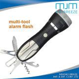 832 torcia elettrica multifunzionale Emergency dell'alluminio LED con gli strumenti