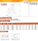 Funktionsaluminiumstrichleiter 2*6