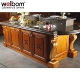 Welbom gabinetes de cocina clásica de madera
