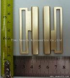 Fashion Design Metal Zinc Alloy Interlocking for Wide Belt Buckle