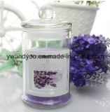 De unieke Gebemerkte Kaarsen van de Kruik van het Glas in de Doos van de Gift