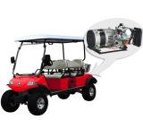 Гибридная тележка гольфа звероловства генератора с корзиной (DEL2042D-H)