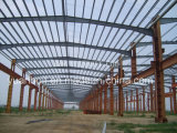 가벼운 Standard Steel Structure Supermarket와 Steel Workshop (2800SQM)