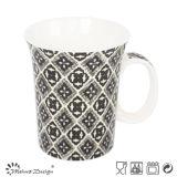 tazza di ceramica 11oz con figura del corno